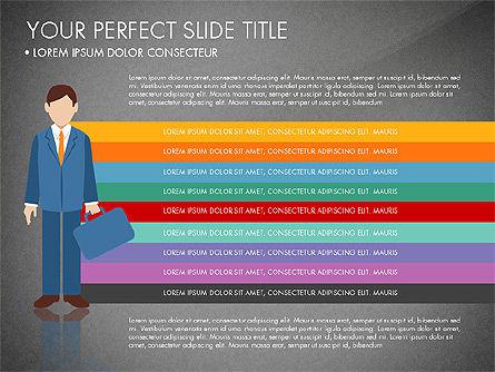 Business People Presentation Concept, Slide 10, 03239, Shapes — PoweredTemplate.com