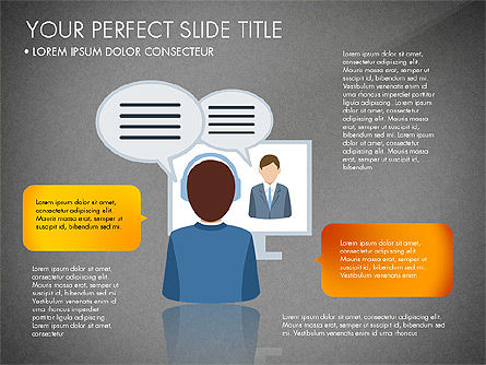 Business People Presentation Concept, Slide 15, 03239, Shapes — PoweredTemplate.com