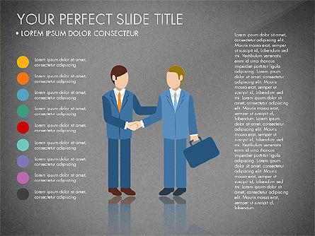 Business People Presentation Concept, Slide 16, 03239, Shapes — PoweredTemplate.com