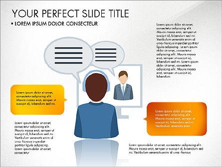 Business People Presentation Concept, Slide 7, 03239, Shapes — PoweredTemplate.com