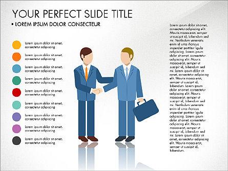 Business People Presentation Concept, Slide 8, 03239, Shapes — PoweredTemplate.com