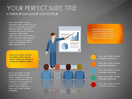Business People Presentation Concept, Slide 9, 03239, Shapes — PoweredTemplate.com