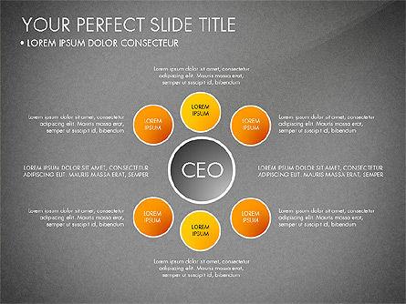Organizational Chart, Slide 13, 03240, Organizational Charts — PoweredTemplate.com