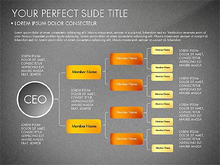 Organizational Chart, Slide 15, 03240, Organizational Charts — PoweredTemplate.com