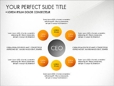 Organizational Chart, Slide 5, 03240, Organizational Charts — PoweredTemplate.com
