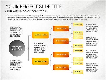 Organizational Chart, Slide 7, 03240, Organizational Charts — PoweredTemplate.com