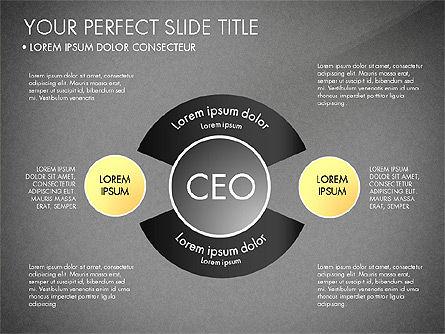 Organizational Chart, Slide 9, 03240, Organizational Charts — PoweredTemplate.com