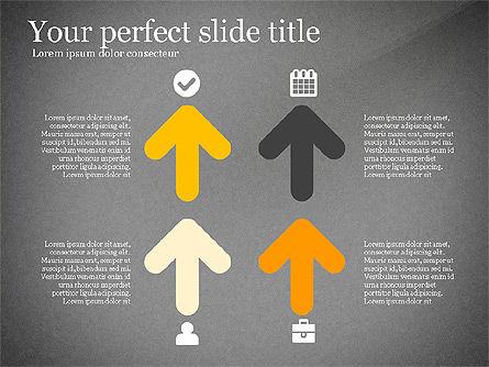 Four Concept, Slide 11, 03241, Shapes — PoweredTemplate.com