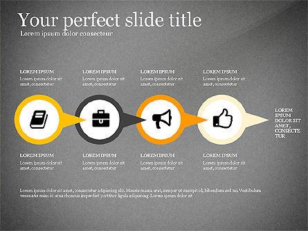 Four Concept, Slide 12, 03241, Shapes — PoweredTemplate.com