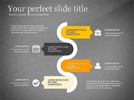 Four Concept, Slide 13, 03241, Shapes — PoweredTemplate.com