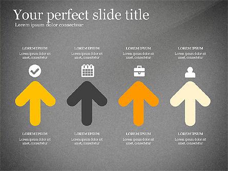 Four Concept, Slide 14, 03241, Shapes — PoweredTemplate.com