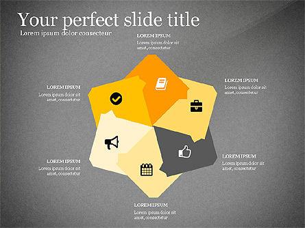 Four Concept, Slide 15, 03241, Shapes — PoweredTemplate.com