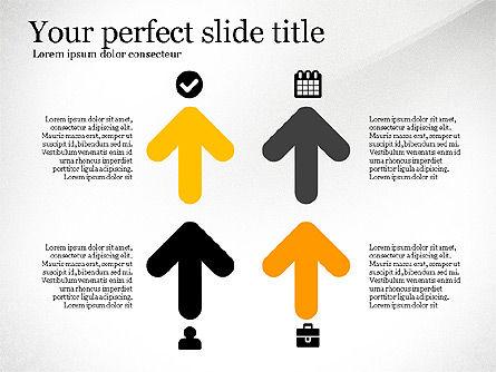 Four Concept, Slide 3, 03241, Shapes — PoweredTemplate.com