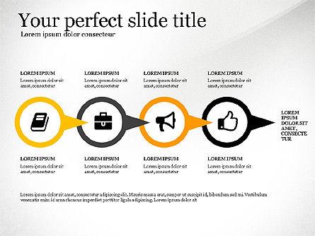 Four Concept, Slide 4, 03241, Shapes — PoweredTemplate.com