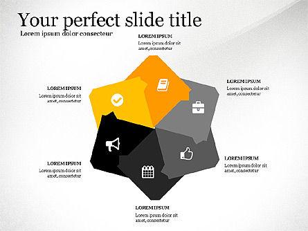 Four Concept, Slide 7, 03241, Shapes — PoweredTemplate.com
