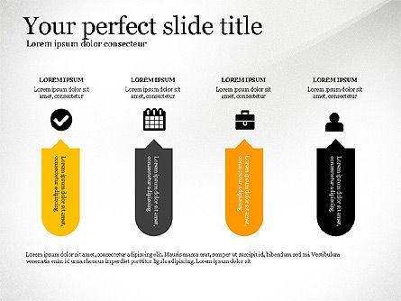 Four Concept, Slide 8, 03241, Shapes — PoweredTemplate.com
