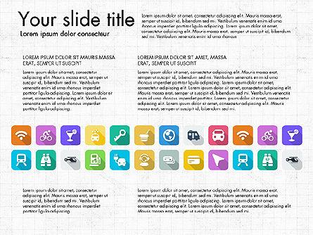 Lifestyle Icon Set, Slide 11, 03242, Icons — PoweredTemplate.com