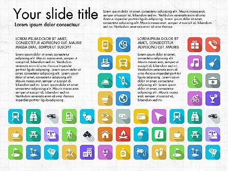 Lifestyle Icon Set, Slide 13, 03242, Icons — PoweredTemplate.com