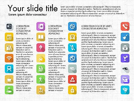 Lifestyle Icon Set, Slide 15, 03242, Icons — PoweredTemplate.com