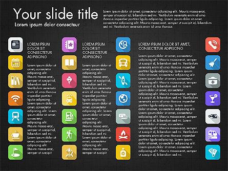 Lifestyle Icon Set, Slide 7, 03242, Icons — PoweredTemplate.com