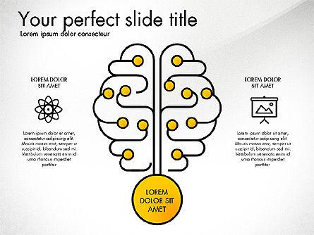Creative Organization Diagram Toolbox, Slide 2, 03245, Organizational Charts — PoweredTemplate.com