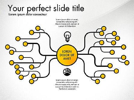 Creative Organization Diagram Toolbox, Slide 3, 03245, Organizational Charts — PoweredTemplate.com