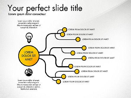 Creative Organization Diagram Toolbox, Slide 4, 03245, Organizational Charts — PoweredTemplate.com