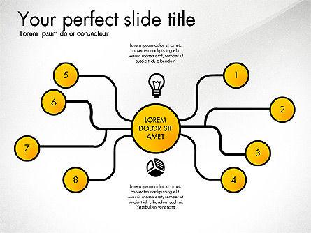 Creative Organization Diagram Toolbox, Slide 5, 03245, Organizational Charts — PoweredTemplate.com
