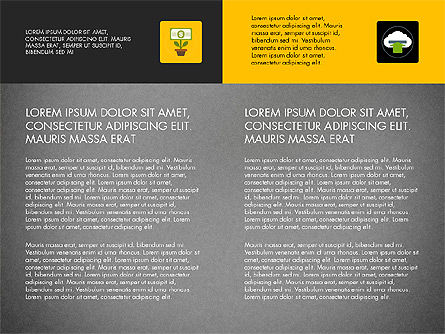 Presentation in Material Design Style, Slide 10, 03246, Presentation Templates — PoweredTemplate.com