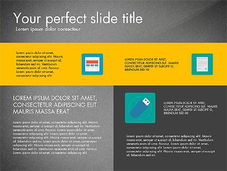 Presentation in Material Design Style, Slide 15, 03246, Presentation Templates — PoweredTemplate.com