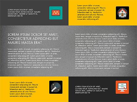 Presentation in Material Design Style, Slide 16, 03246, Presentation Templates — PoweredTemplate.com
