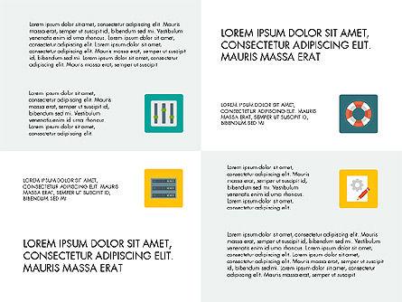 Presentation in Material Design Style, Slide 6, 03246, Presentation Templates — PoweredTemplate.com