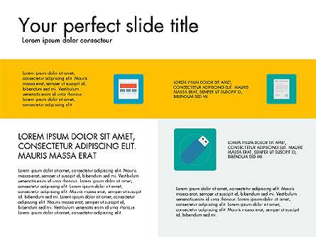 Presentation in Material Design Style, Slide 7, 03246, Presentation Templates — PoweredTemplate.com