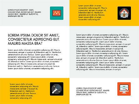 Presentation in Material Design Style, Slide 8, 03246, Presentation Templates — PoweredTemplate.com