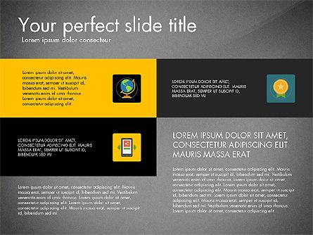 Presentation in Material Design Style, Slide 9, 03246, Presentation Templates — PoweredTemplate.com