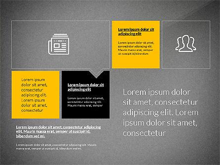 Flat Design Presentation with Shapes, Slide 10, 03248, Presentation Templates — PoweredTemplate.com