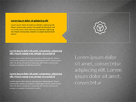 Flat Design Presentation with Shapes, Slide 13, 03248, Presentation Templates — PoweredTemplate.com