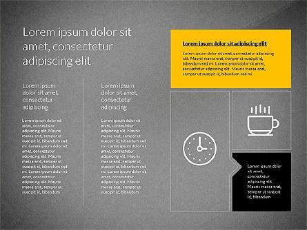Flat Design Presentation with Shapes, Slide 16, 03248, Presentation Templates — PoweredTemplate.com