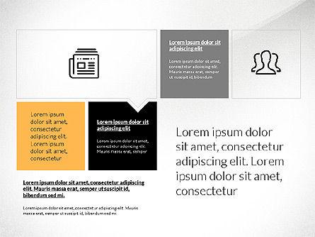 Flat Design Presentation with Shapes, Slide 2, 03248, Presentation Templates — PoweredTemplate.com