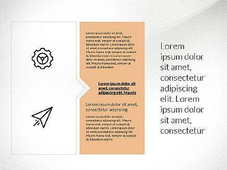Flat Design Presentation with Shapes, Slide 3, 03248, Presentation Templates — PoweredTemplate.com