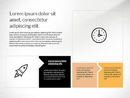 Flat Design Presentation with Shapes, Slide 4, 03248, Presentation Templates — PoweredTemplate.com