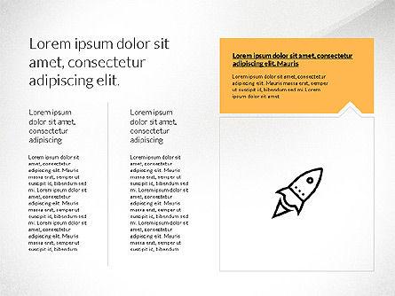 Flat Design Presentation with Shapes, Slide 5, 03248, Presentation Templates — PoweredTemplate.com