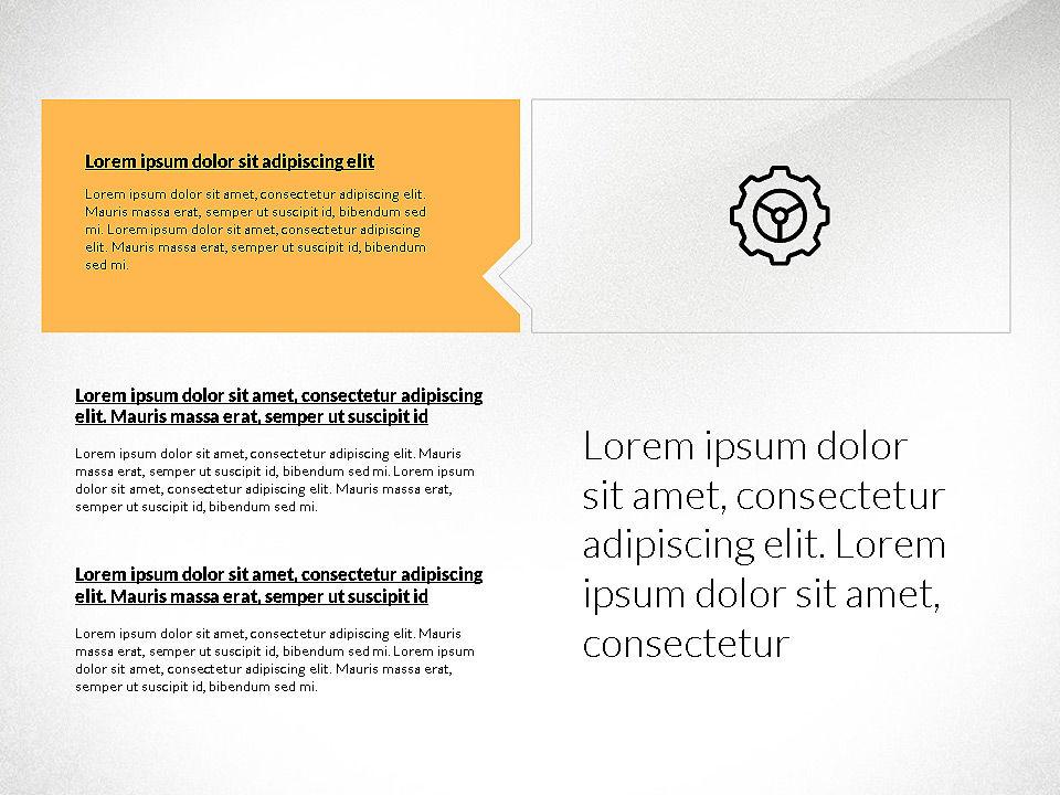 Flat Design Presentation with Shapes, Slide 6, 03248, Presentation Templates — PoweredTemplate.com