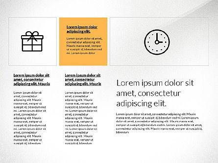 Flat Design Presentation with Shapes, Slide 7, 03248, Presentation Templates — PoweredTemplate.com