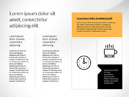Flat Design Presentation with Shapes, Slide 8, 03248, Presentation Templates — PoweredTemplate.com