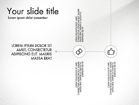 Flow Chart with Icons Concept, Slide 8, 03249, Flow Charts — PoweredTemplate.com
