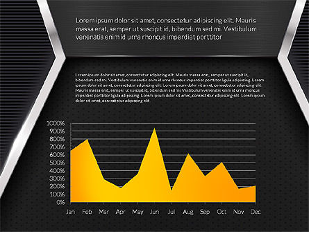 Company Profile Data Driven Presentation Template, Slide 11, 03250, Data Driven Diagrams and Charts — PoweredTemplate.com
