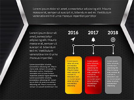 Company Profile Data Driven Presentation Template, Slide 13, 03250, Data Driven Diagrams and Charts — PoweredTemplate.com