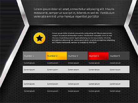 Company Profile Data Driven Presentation Template, Slide 14, 03250, Data Driven Diagrams and Charts — PoweredTemplate.com