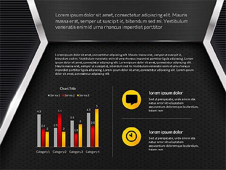 Company Profile Data Driven Presentation Template, Slide 16, 03250, Data Driven Diagrams and Charts — PoweredTemplate.com